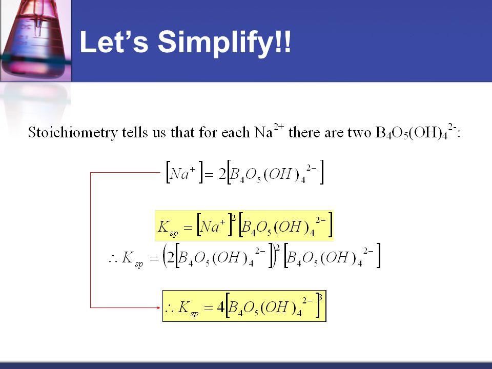 Let's Simplify!!