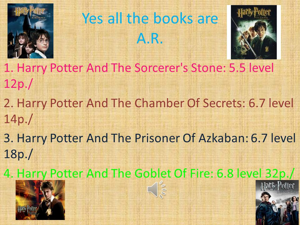 Yes all the books are A.R.