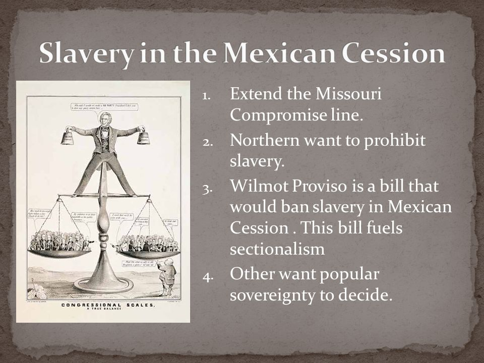 Slavery in the Mexican Cession
