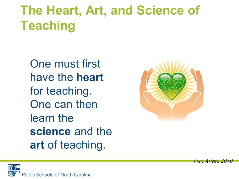 The Heart, Art, and Science of Teaching