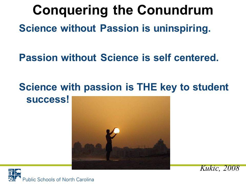 Conquering the Conundrum