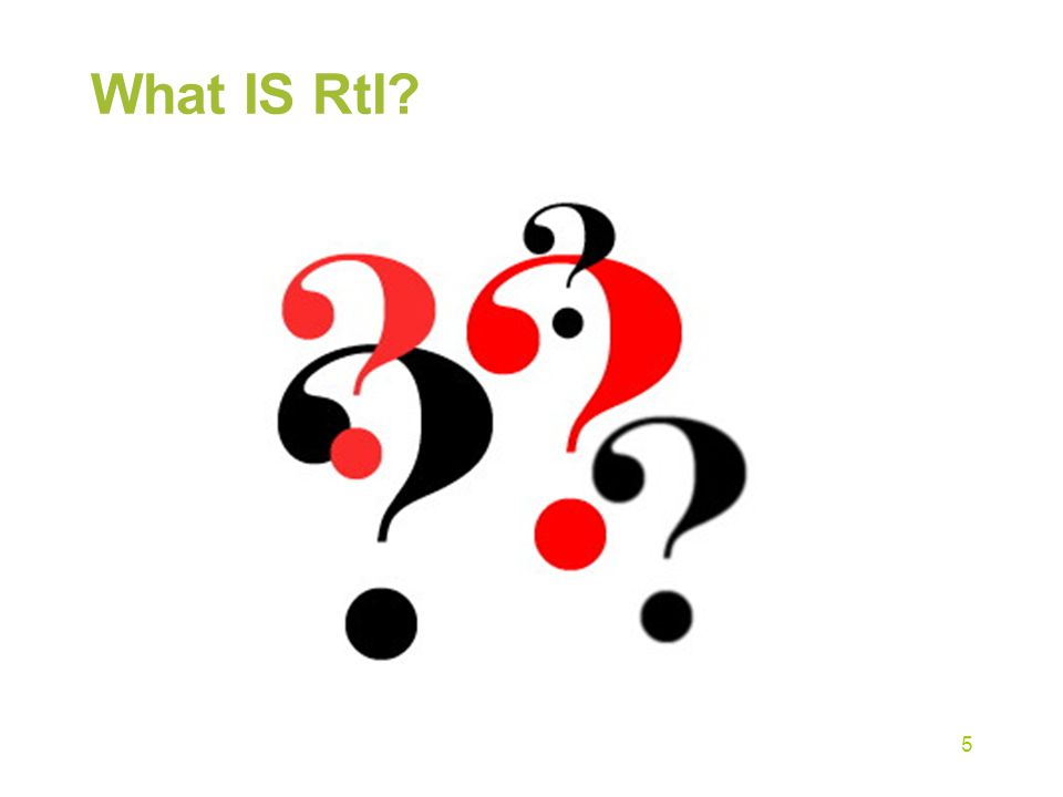 What IS RtI coop