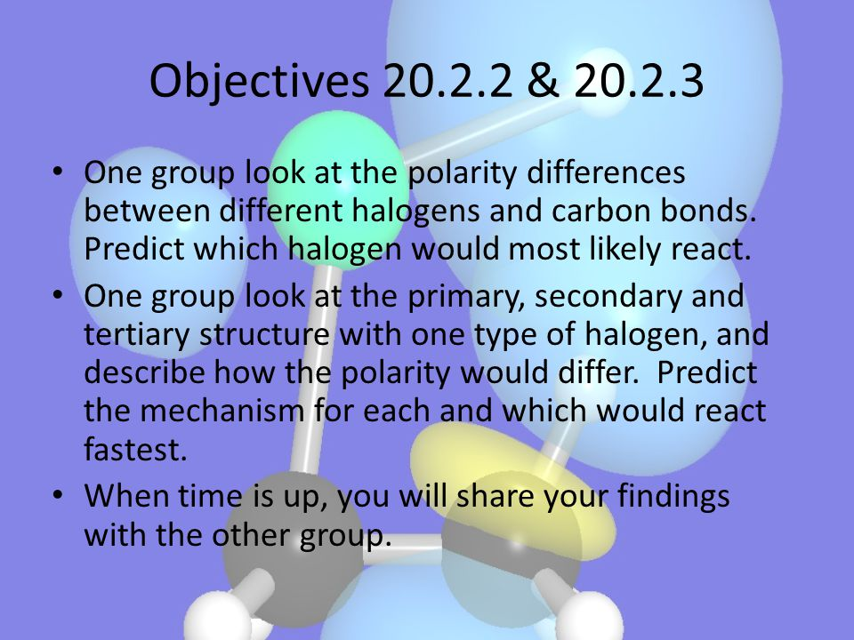 Objectives 20.2.2 & 20.2.3