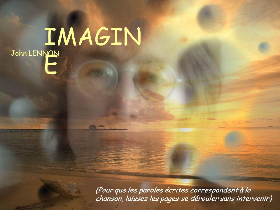 IMAGINE John LENNON.