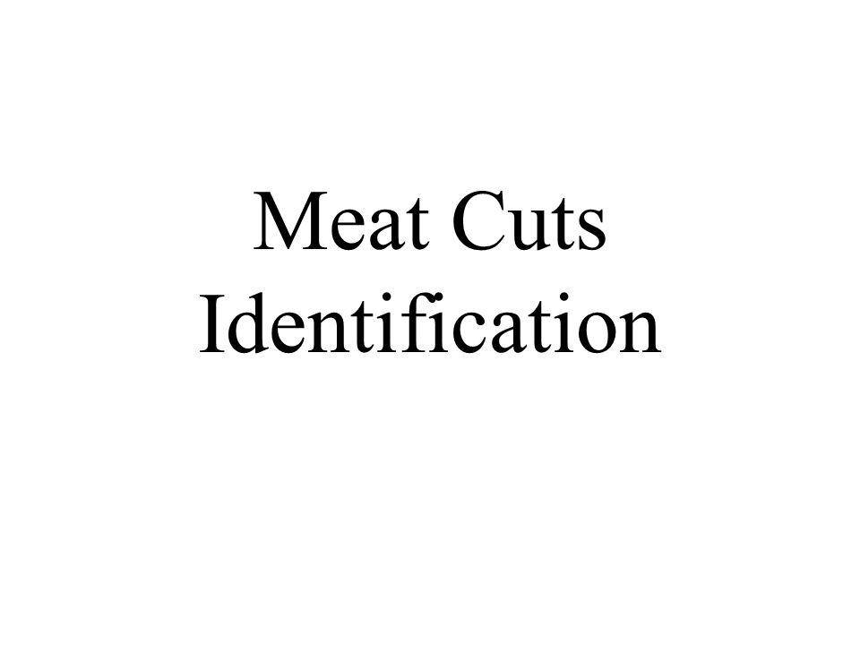 Meat Cuts Identification
