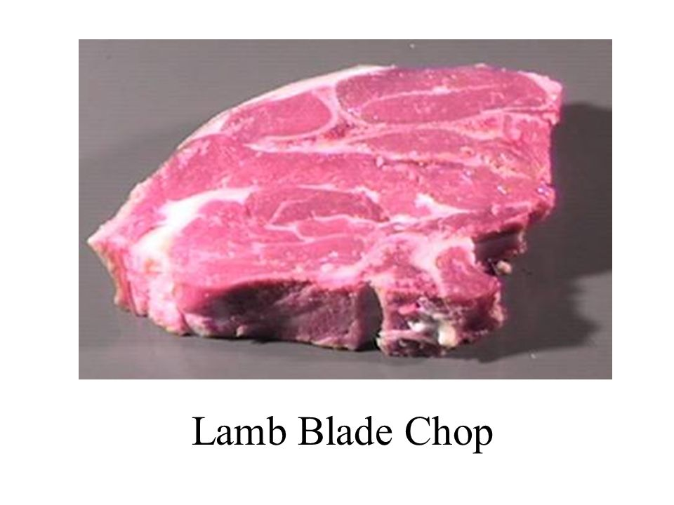 Lamb Blade Chop