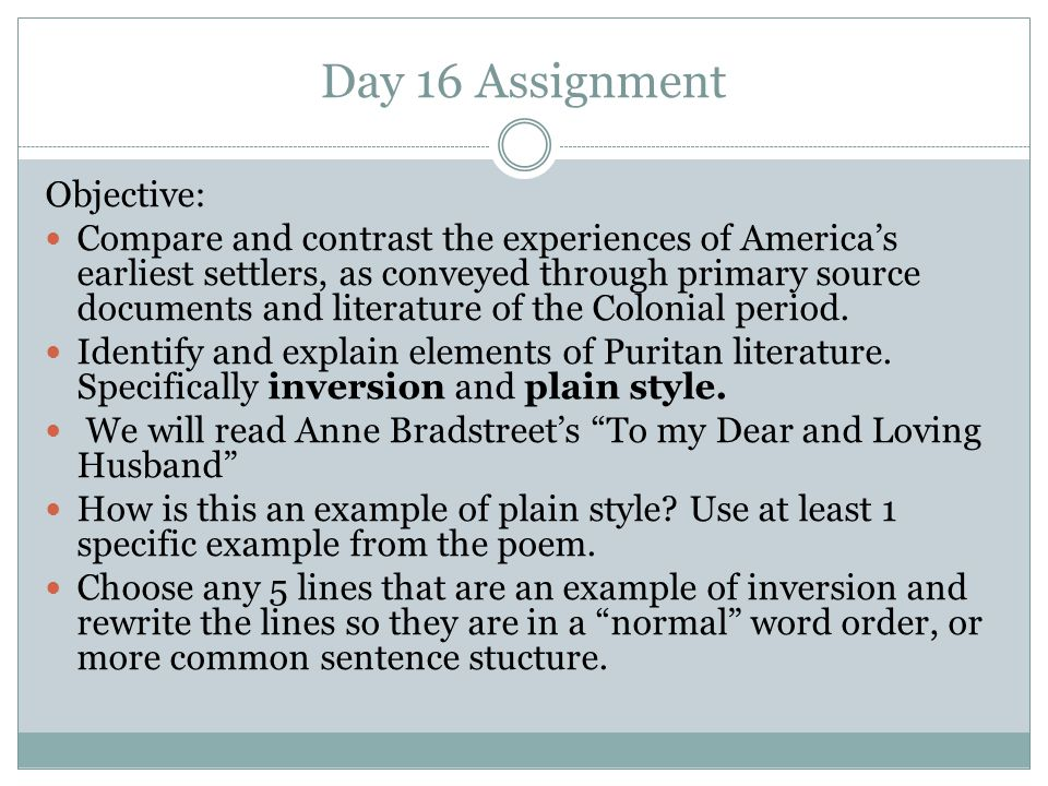 Day 16 Assignment Objective: