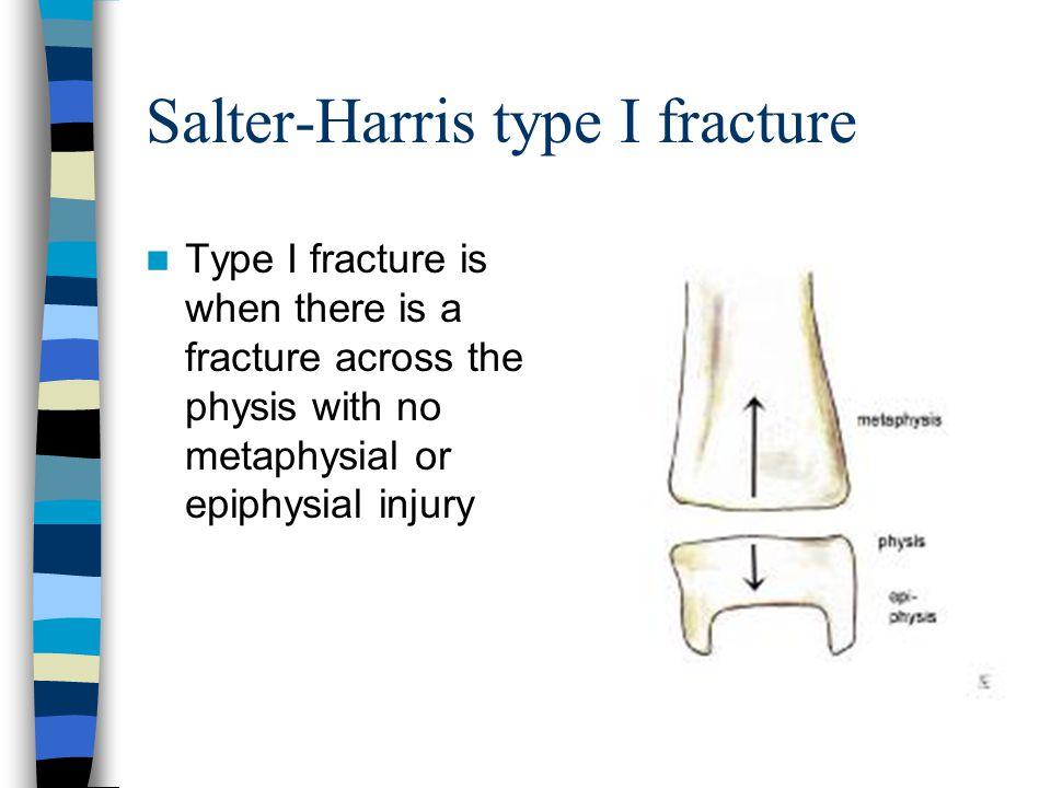 Salter-Harris type I fracture