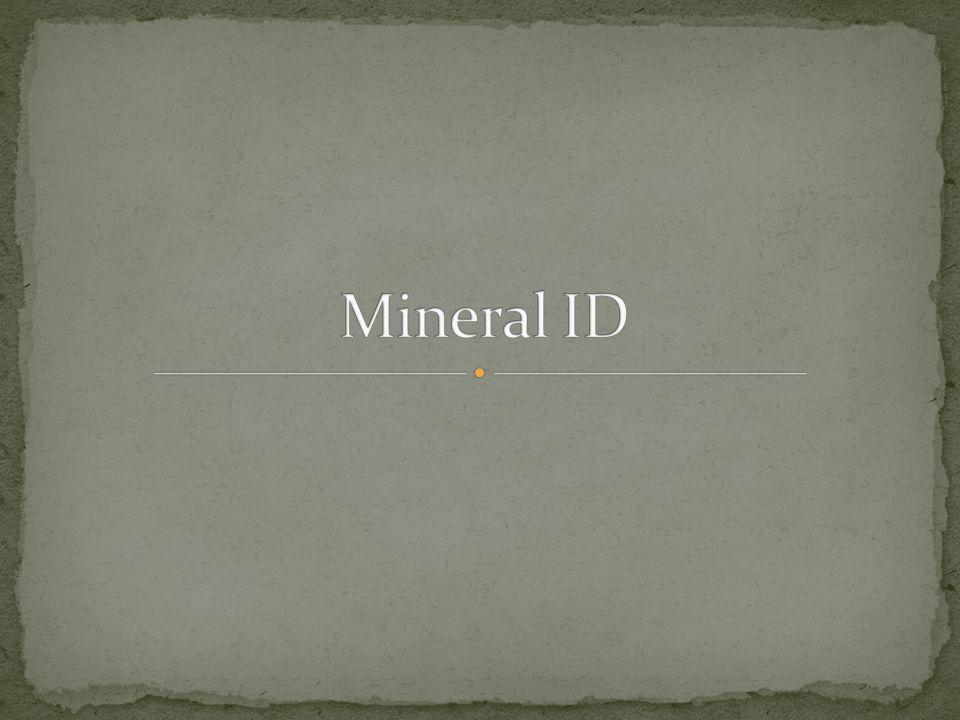 Mineral ID