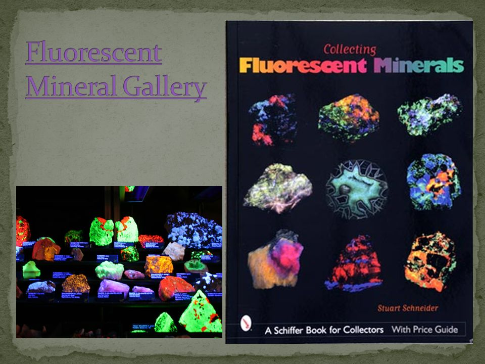 Fluorescent Mineral Gallery