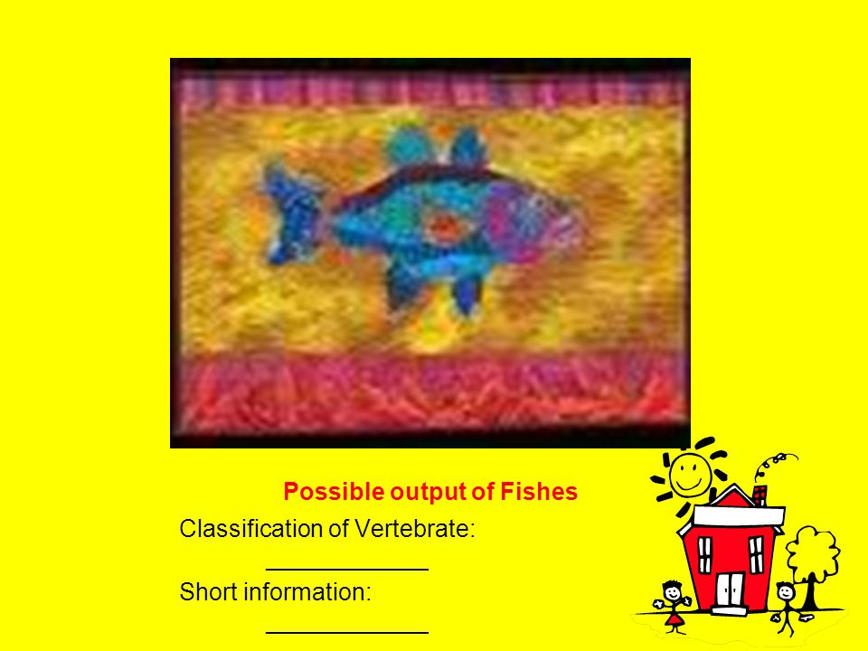 Possible output of Fishes