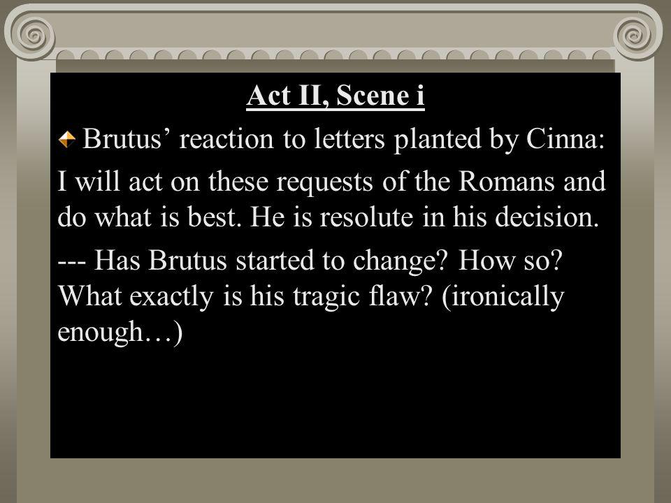 Act II, Scene i Act II, Scene i