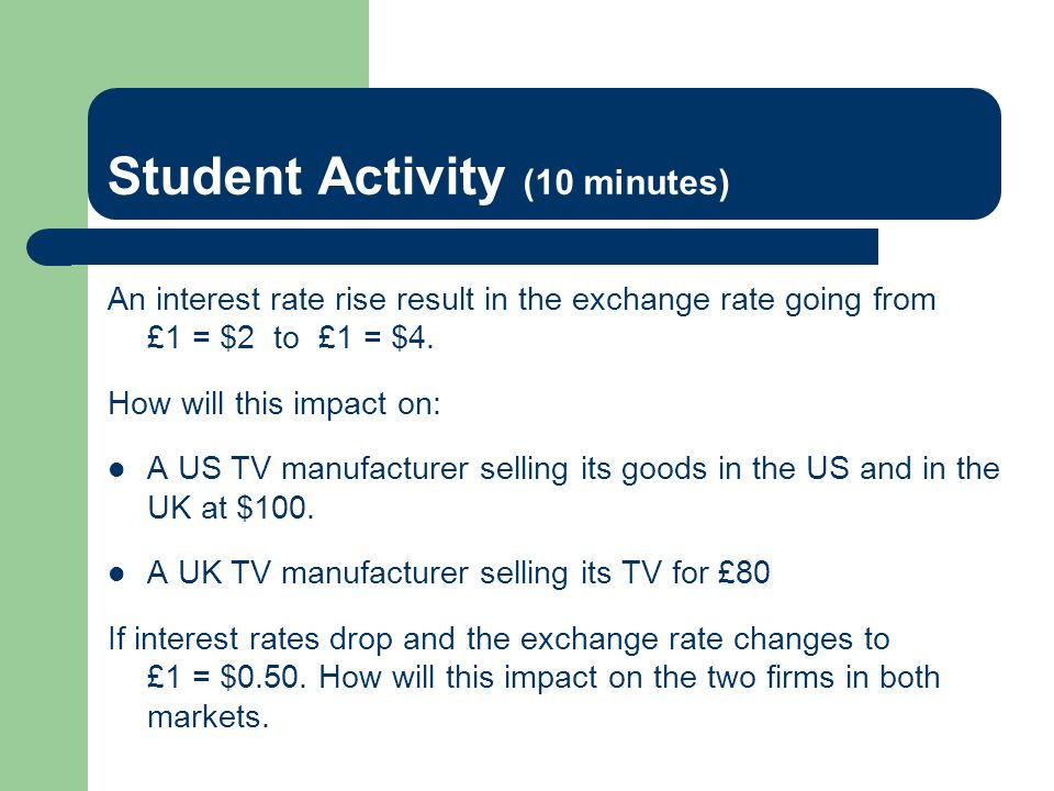 Student Activity (10 minutes)