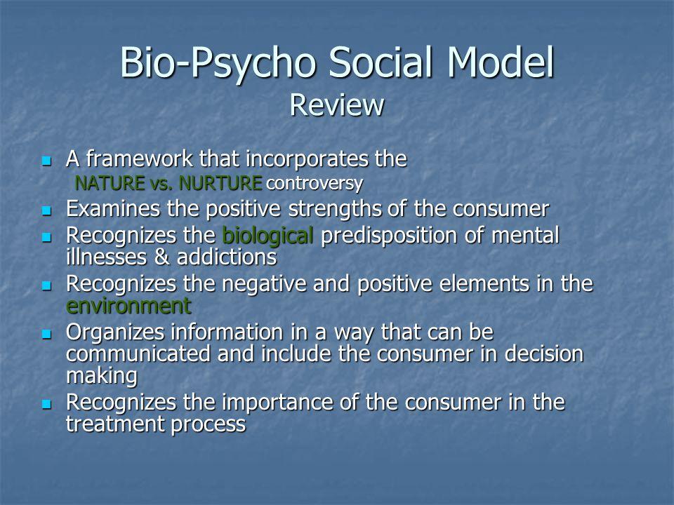 Bio-Psycho Social Model Review