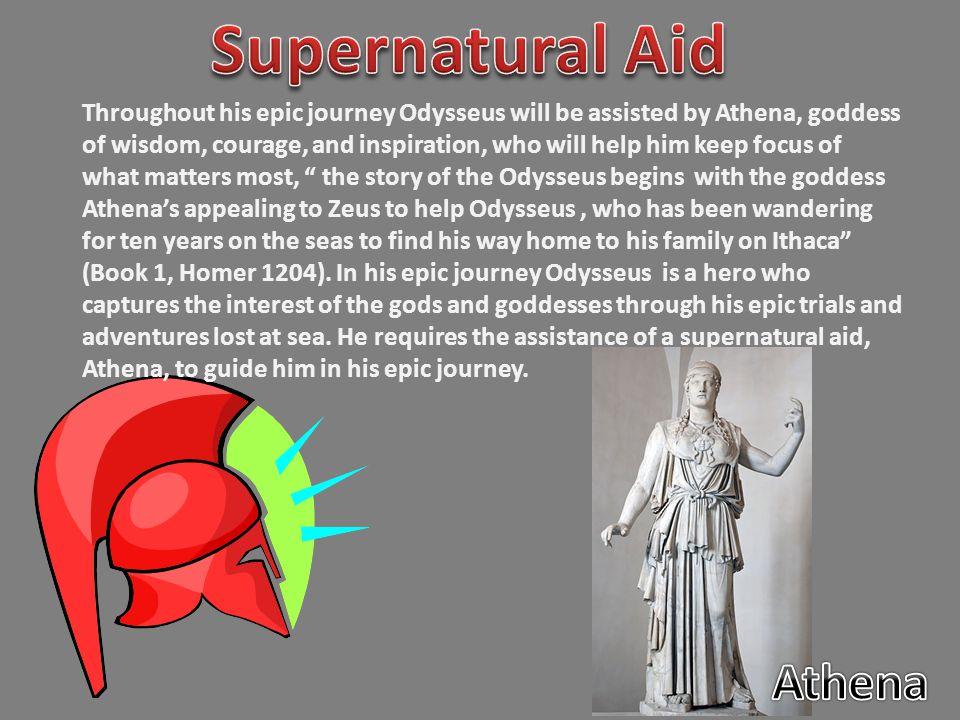 Supernatural Aid Athena