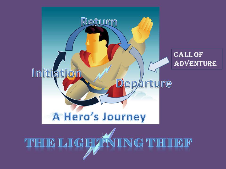 Call of Adventure The Lightning Thief