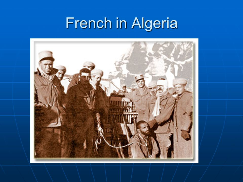 French in Algeria