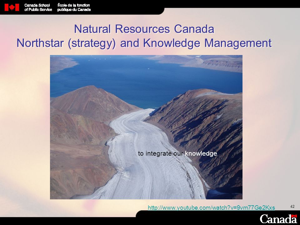 Natural Resources Canada Northstar (strategy) and Knowledge Management