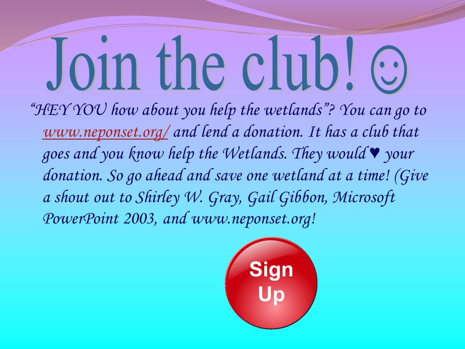 Join the club!☺