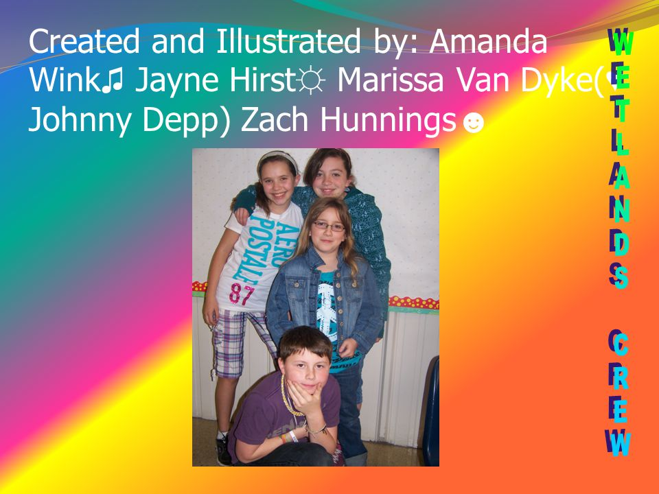 Created and Illustrated by: Amanda Wink♫ Jayne Hirst☼ Marissa Van Dyke(♥ Johnny Depp) Zach Hunnings☻