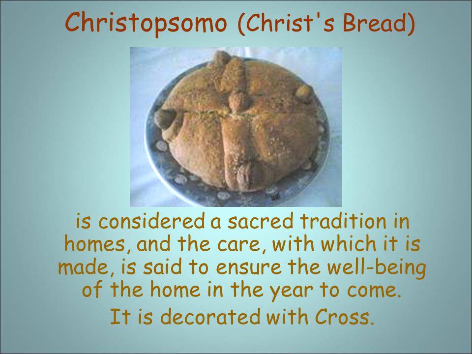 Christopsomo (Christ s Bread)