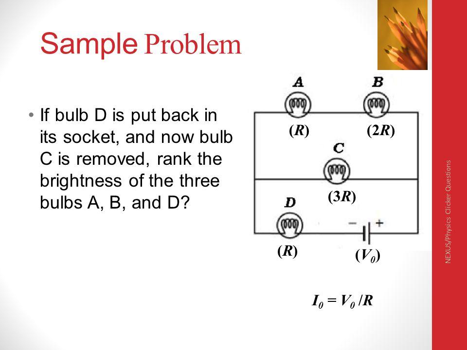 Physics 132 4/6/2017. Sample Problem.