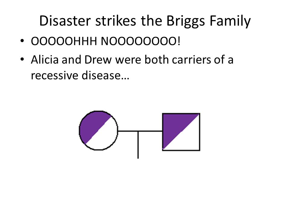 Disaster strikes the Briggs Family