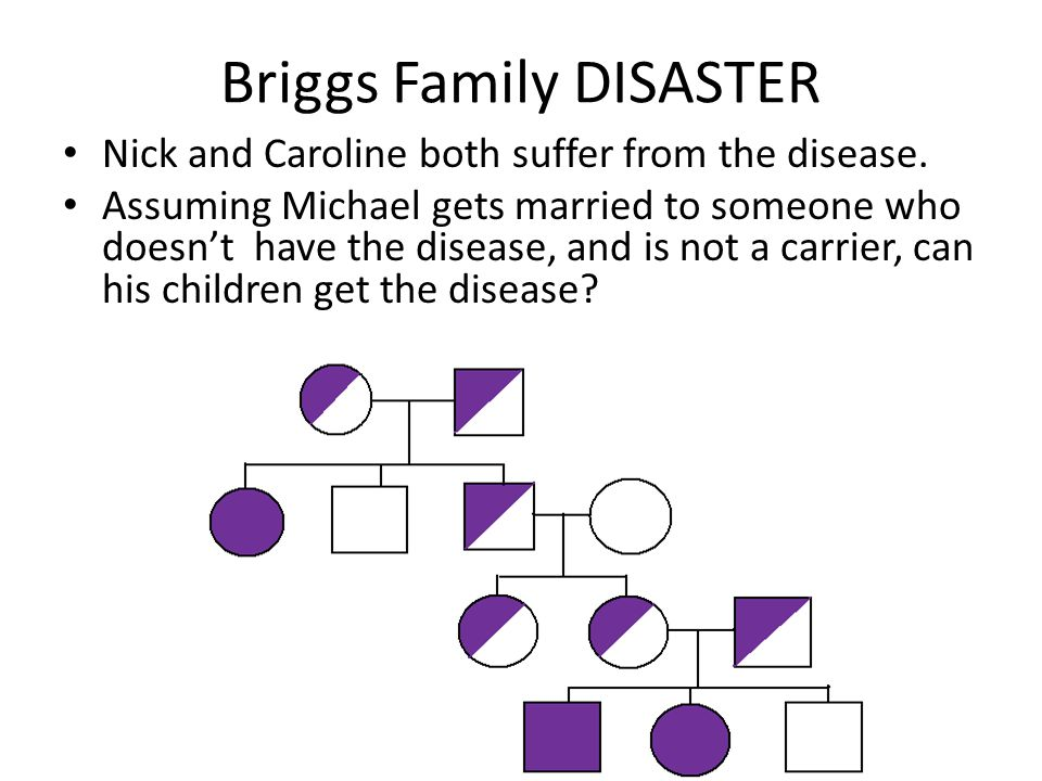 Briggs Family DISASTER
