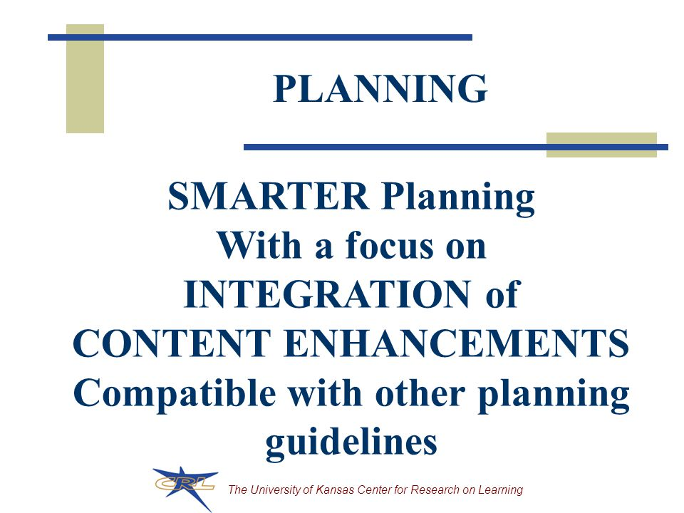 Compatible with other planning guidelines