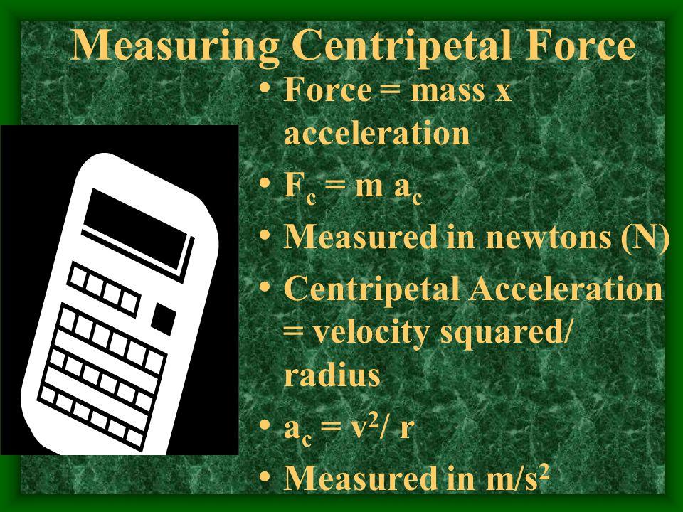 Measuring Centripetal Force
