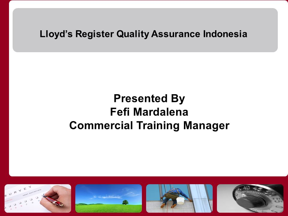 Commercial Training Manager