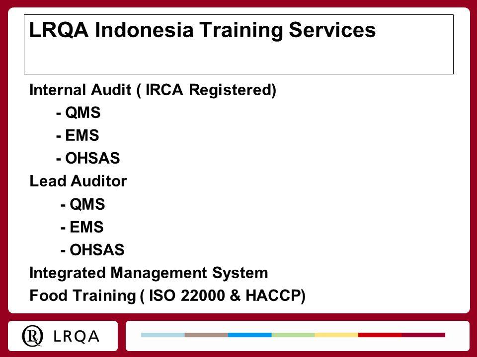 LRQA Indonesia Training Services