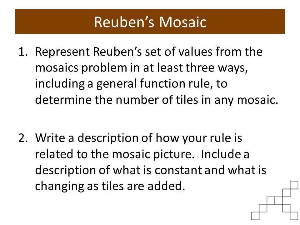 Reuben's Mosaic