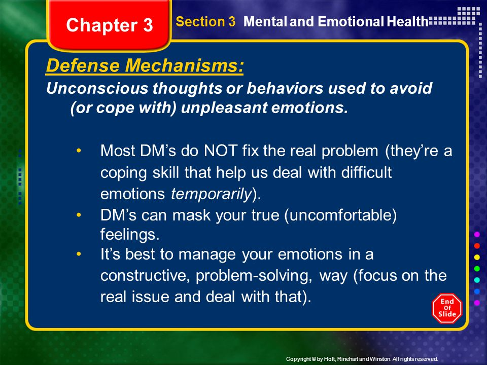 Chapter 3 Defense Mechanisms: