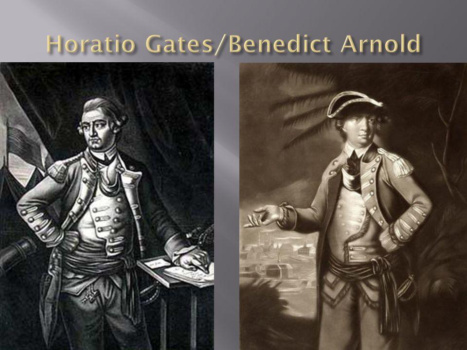 Horatio Gates/Benedict Arnold