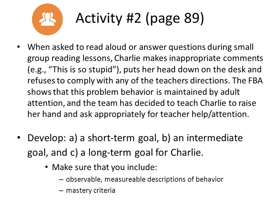Activity #2 (page 89)