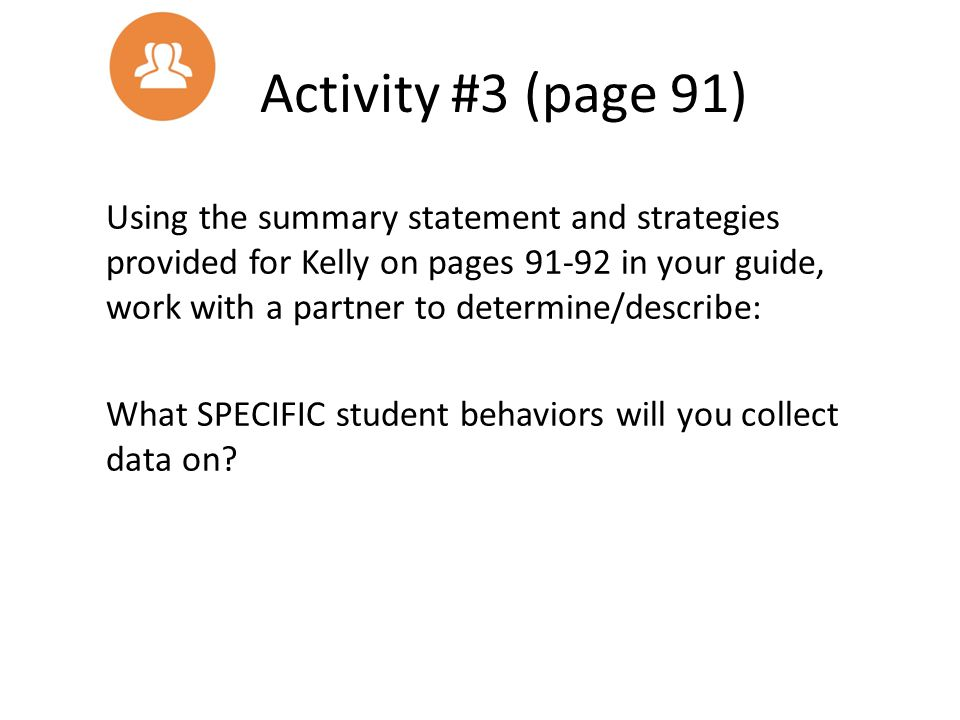 Activity #3 (page 91)