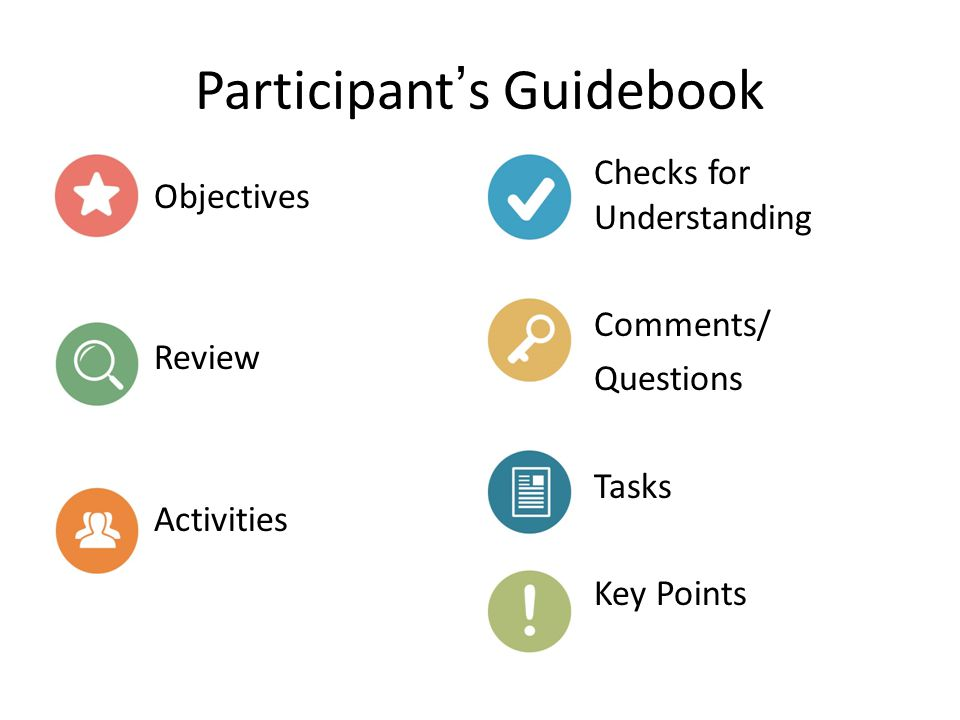 Participant's Guidebook
