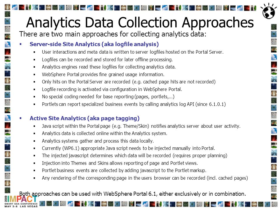 Analytics Data Collection Approaches