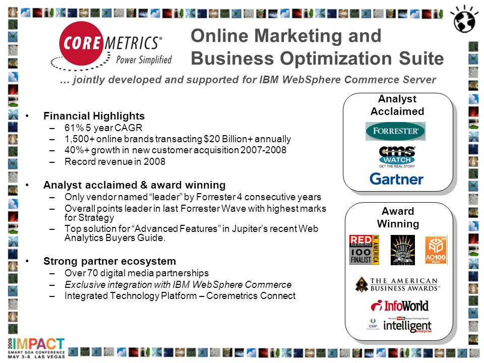 Online Marketing and Business Optimization Suite