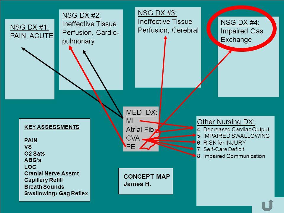 NSG DX #3: NSG DX #2: Ineffective Tissue Ineffective Tissue