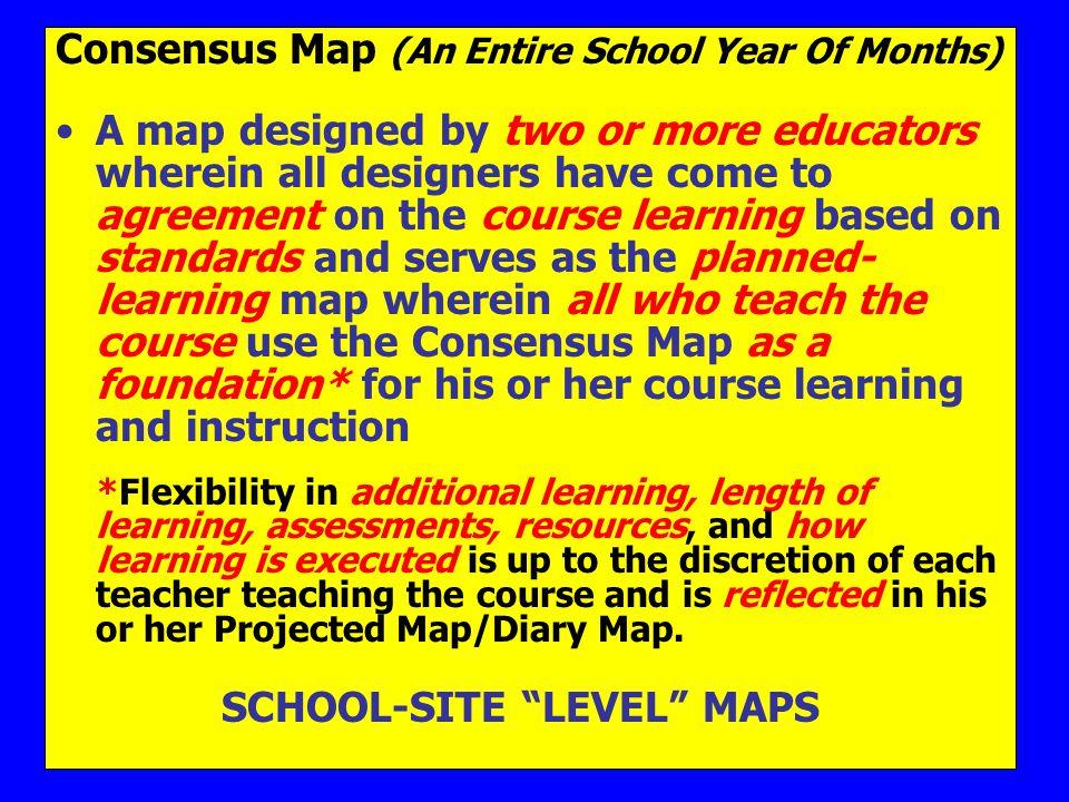 SCHOOL-SITE LEVEL MAPS