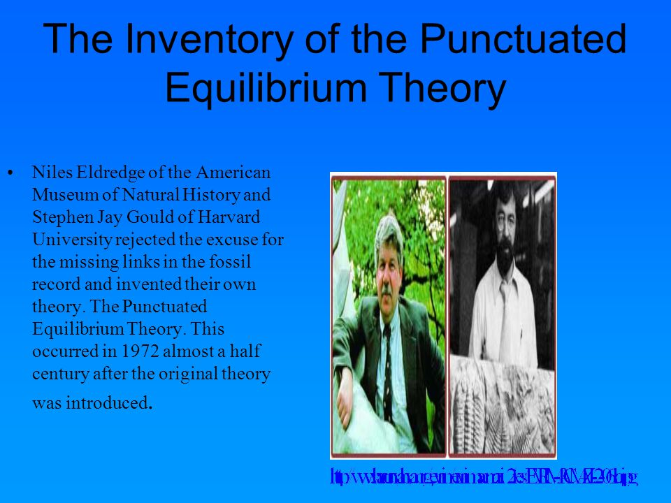 The Inventory of the Punctuated Equilibrium Theory