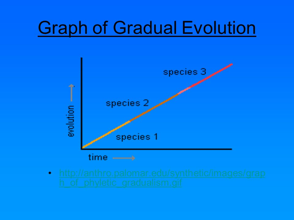 Graph of Gradual Evolution