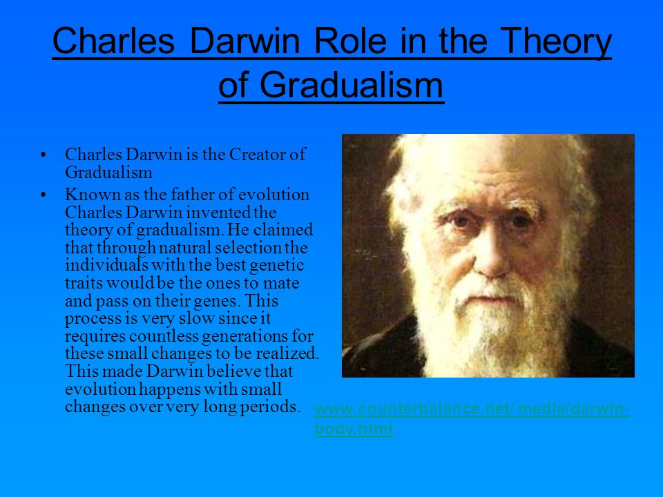 Charles Darwin Role in the Theory of Gradualism