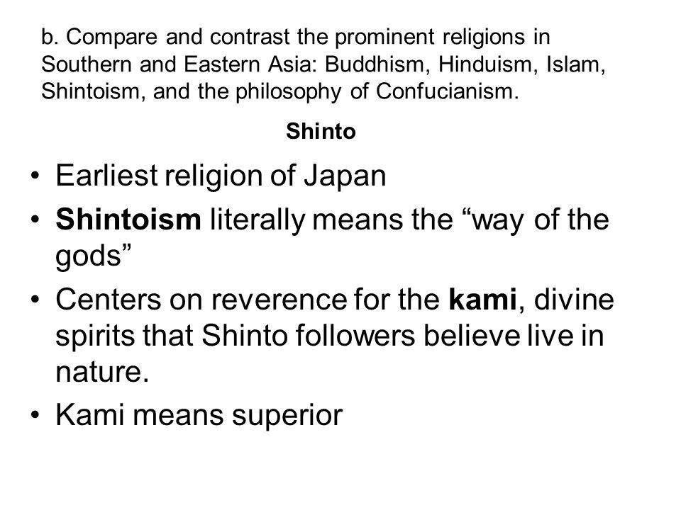 Earliest religion of Japan