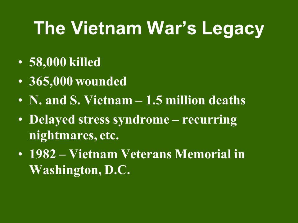 The Vietnam War's Legacy