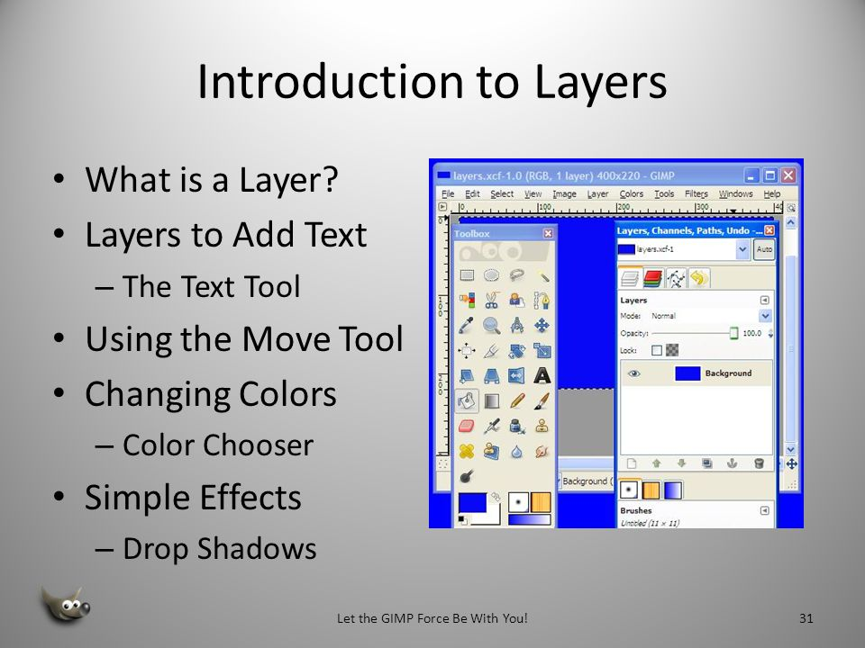 Introduction to Layers