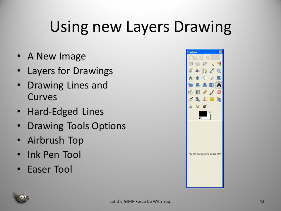 Using new Layers Drawing