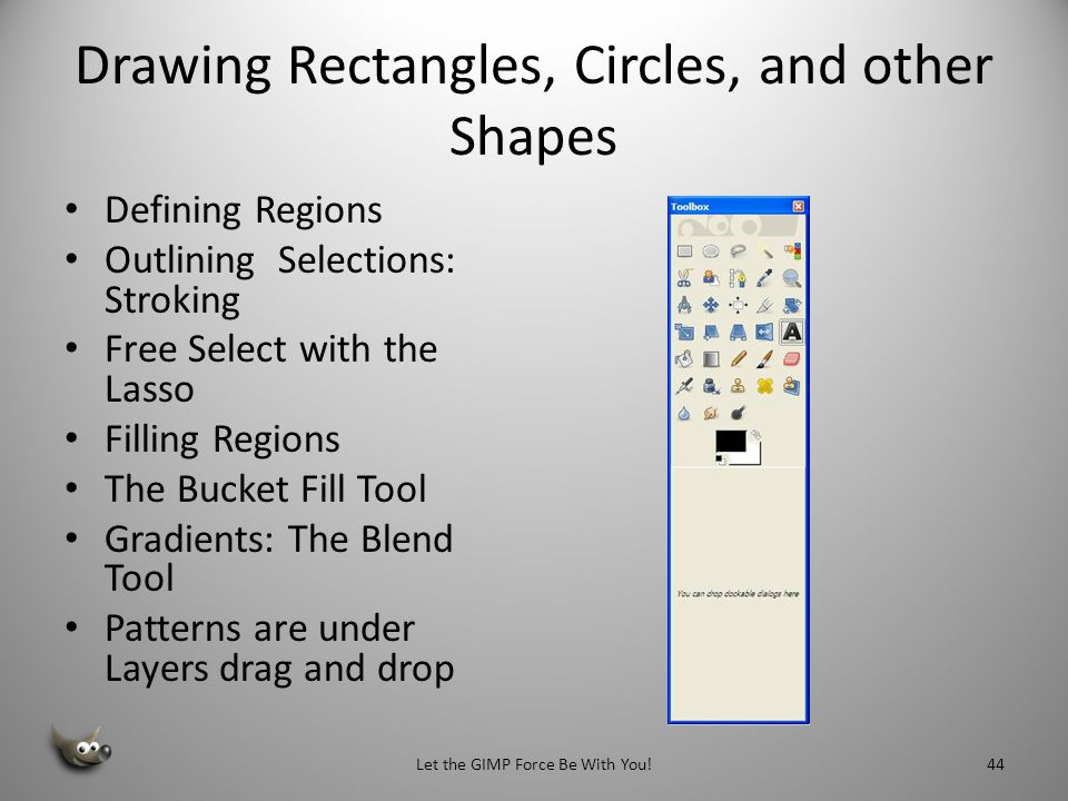 Drawing Rectangles, Circles, and other Shapes